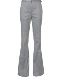 Gabriela Hearst Stitching Detail Flared Trousers