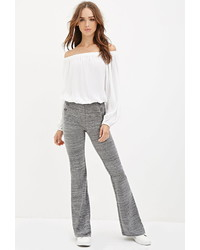 Forever 21 Space Dye Flared Pants