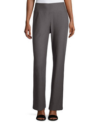 Eileen Fisher Stretch Crepe Boot Cut Pants