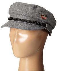 Grey Flat Cap