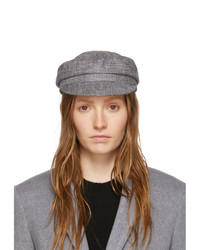 Isabel Marant Grey Check Evie Cap