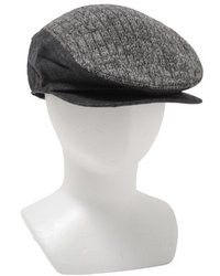 Calvin Klein Refined Ribbed Flat Cap