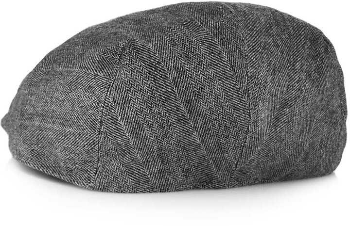6611b2695b6 Topman Grey Jack Flat Cap