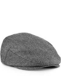 Topman Grey Jack Flat Cap