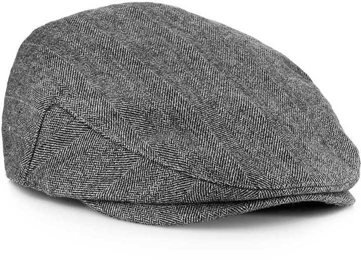 2499b48da70 ... Topman Grey Jack Flat Cap ...