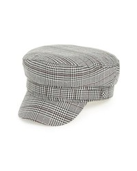 Treasure & Bond Wear Plaid Baker Boy Hat