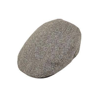 Wholesale Hats Jaxon Herringbone Flat Cap Brown Wholesale Pack ... 65c675d7c8a