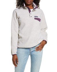 Patagonia Synchilla Snap T Recycled Fleece Pullover