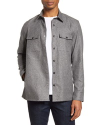Nordstrom Men's Shop Fleece Shirt Jacket