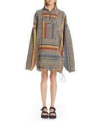 Y/Project Half Zip Fleece Jacket