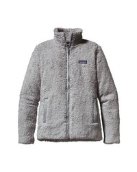 Grey Fleece Zip Sweater