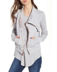 FRANK & EILEEN TEE LAB Asymmetrical Zip Fleece Jacket