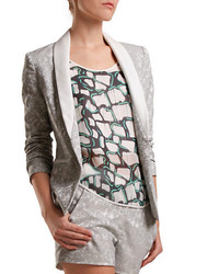 Grey Floral Blazers for Women | Women's Fashion