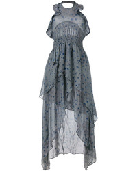 IRO Floral Print Halter Dress