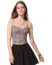 Aeropostale floral bustier top medium 34456