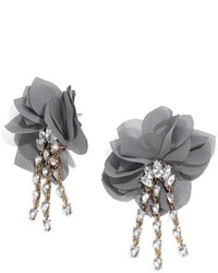 BaubleBar Amaryllis Floral Drop Earrings