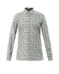 d7102c59 Men's Grey Long Sleeve Shirts by Gucci | Men's Fashion | Lookastic.com