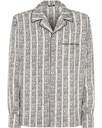 Dolce & Gabbana Floral Print Silk Shirt