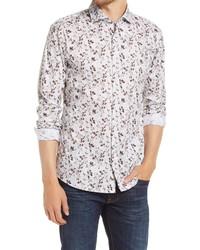 Brax Harry Modern Fit Stretch Floral Button Up Shirt