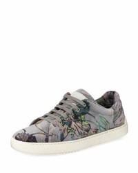 Kent floral print velvet low top sneaker medium 5276657