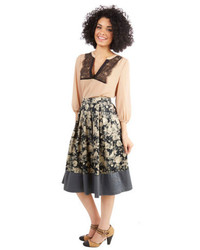 All for one and one floral skirt medium 111385