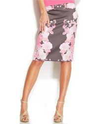 Floral print pencil skirt medium 222026