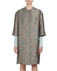Lanvin Jacquard Floral Print Jacket