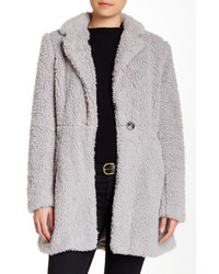 Sebby Cozy Faux Fur Coat