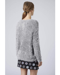 Topshop Knitted Fluffy Jumper | Where to buy & how to wear