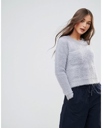 Qed london curved hem sweater medium 6842575