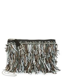 G lish bead leather fringe crossbody bag white medium 1248696