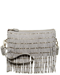 Shiraleah Riley Vegan Leather Fringe Crossbody