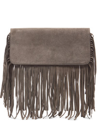 Theperfext hayley fringe clutch medium 217512