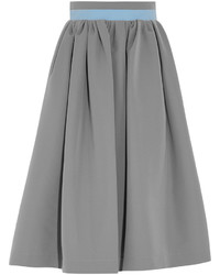 Grey Full Skirt