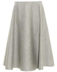 The Row Nisha Double Faced Wool Midi Skirt