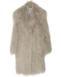 Lanvin Faux Fur Coat
