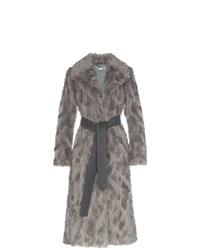 Stella McCartney Faux Fur Long Coat