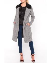 Everly Fur Collar Coat