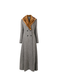 Ermanno Scervino Long Double Breasted Coat