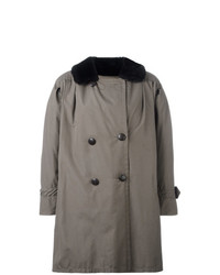 Yves Saint Laurent Vintage Oversize Peacoat