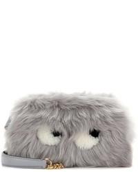 Eyes mini fur crossbody bag medium 1344822