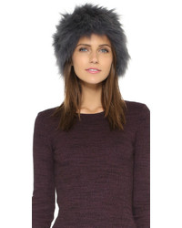 Fur knitted hat medium 377008