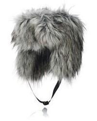 Imposter Faux Fur Trapper Hat Grey