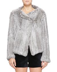Joie Aviana Rabbit Fur Jacket