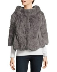 Cropped fur jacket medium 3831819