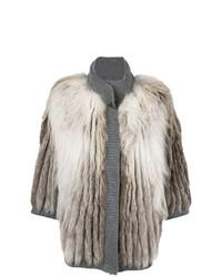 Fox fur jacket medium 8264997