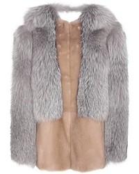 Christopher Kane Fur Jacket