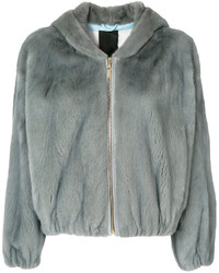 Liska Fur Zipped Jacket