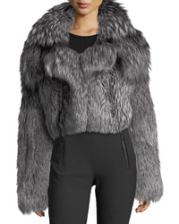 Michael Kors Michl Kors Fox Fur Shrug Jacket