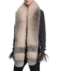 Brunello Cucinelli Dgrad Fox Fur Stole